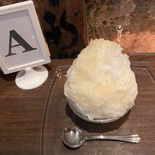 かき氷 洋梨(ミルク無)