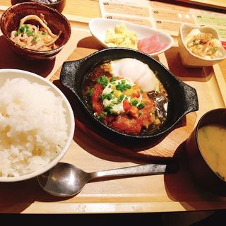 マグロハンバーグ(ひびか食堂)