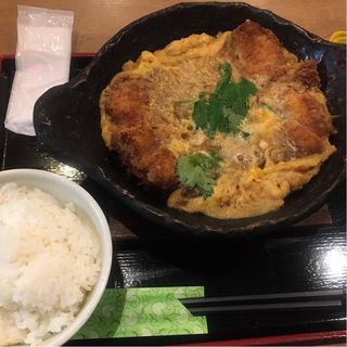 カツ煮定食(鳥良商店 浅草橋駅前店)
