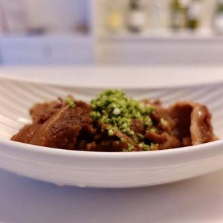 実山椒と牛のしぐれ煮(十番右京ナチュールスタンド)