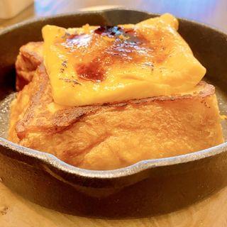 まちあわせのフレンチトースト(パンとエスプレッソとまちあわせ)