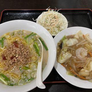 豚骨台湾ラーメンと中華丼(中華料理 旭 門司店 (チュウカリョウリ アサヒ))