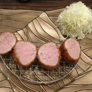 三元豚ヘレカツ定食(epais (エペ))