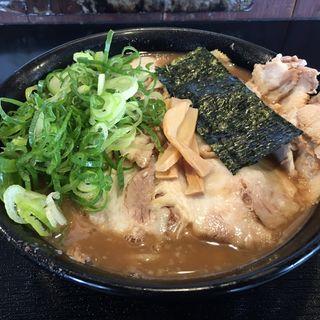 豚そば肉増し(無鉄砲しゃばとん)