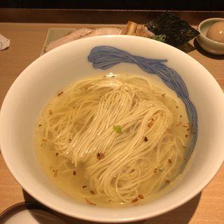 かけそば(塩)(NIPPON RAMEN 凛 RIN TOKYO)
