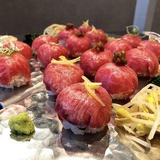 和牛肉手毬寿司