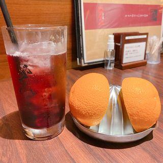 カシス&生オレンジ(肉の館 羅生門 明石店)