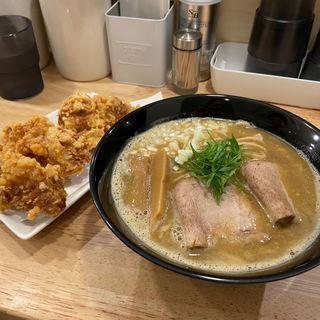 鶏×魚ラーメン(麺屋K)