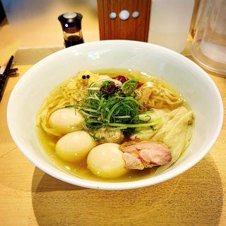 特製塩そば(饗 くろ喜 (もてなし くろき/饗 くろ㐂))