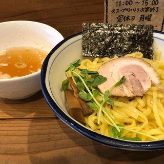 塩つけ麺 (大盛)(まるにぼ )