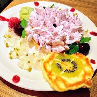 紫陽花のパンケーキ(MOGMOG (モグモグ))