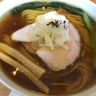 醤油そば弦乃月ブレンド(自家製麺と定食 弦乃月)