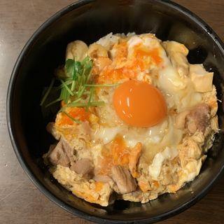 地鶏の夕焼け親子丼特上定食
