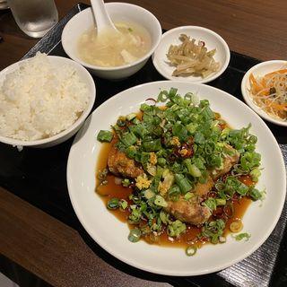 五福特製酢豚定食
