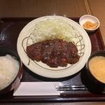 味噌ロースカツ定食(キッチンなごや )