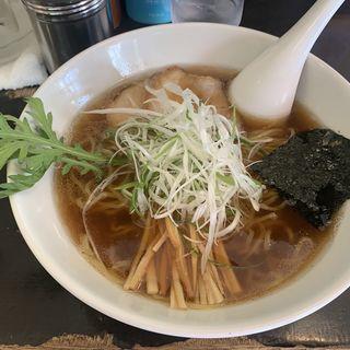 醤油ラーメン(三角山五衛門ラーメン 狸小路本店)