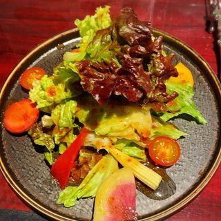 サラダ(ワイン懐石 銀座 囃shiya (はやしや))