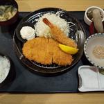 ロースカツ定食(150g)