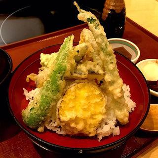 旬の野菜天空丼