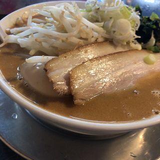 らーめんランチ(みそラーメンとサラダ)