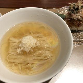 プレミアム新麦と鯛の冷汁