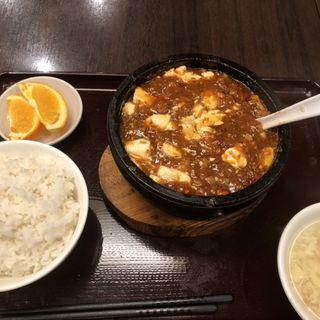 石鍋麻婆豆腐(本格上海・四川料理 開縁)