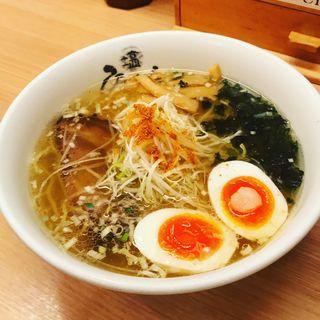 塩玉らーめん(ひるがお 東京駅店 )