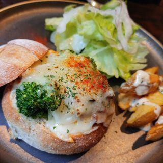 くたくた茄子のミートパングラタン(glam 西新宿店)