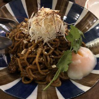 汁無し坦々麺(海月食堂 (くらげしょくどう))