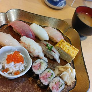 にぎり1人前(鮨たじま  中野坂上店)