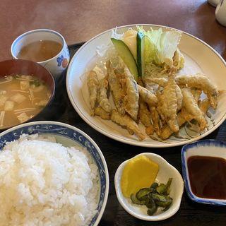 きびなごの天ぷら定食(味納 )