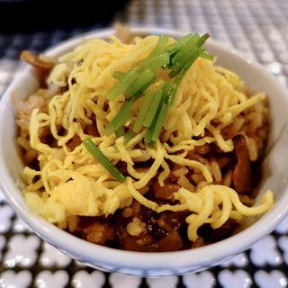 名物鶏めしセット(麺処 蛇の目屋 )