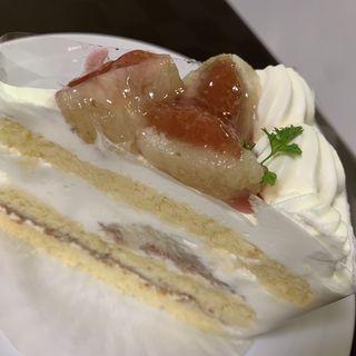 岩岡いちぢくのショートケーキ(ル ハルミツ )