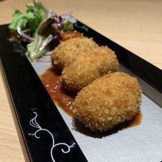 濃厚蟹クリームコロッケ(京都 瓢喜 西麻布店 (きょうと ひょうき))