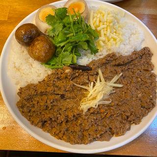 牛挽肉カレー