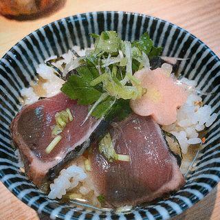 牧野カツオの出汁茶漬け(拉麺開花)