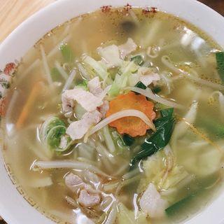 タンメン(萬来軒)