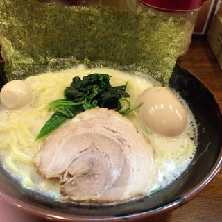 味玉ラーメン塩(源家 小川町本店 (ゲンヤ))