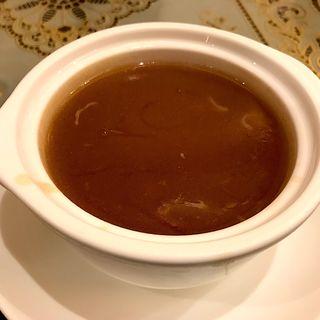 フカヒレスープの茶碗蒸し