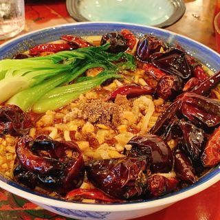 四川坦々麺(茶酔楼 時の葉 )