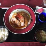 生姜焼き定食(太白カントリークラブ)