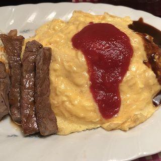オムライス(レストランあづま)