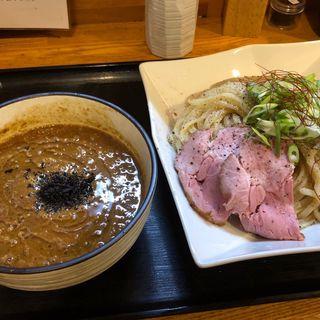 ゴボウドロつけ麺(麺処 飯田家)