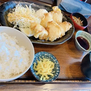 とり天定食(串焼処 鶏膳 明石総本店)