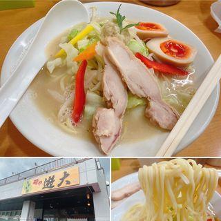 味玉タンメン(麺や遊大 )
