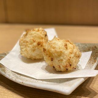ポテサラ天(天ぷらと日本酒 明日源)