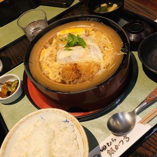 豆腐かつ煮鍋(田むら 銀かつ亭 (たむら ぎんかつてい))