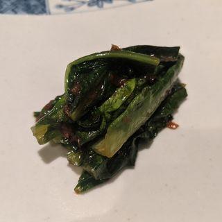 A菜 豆鼓鯪魚炒め(series)