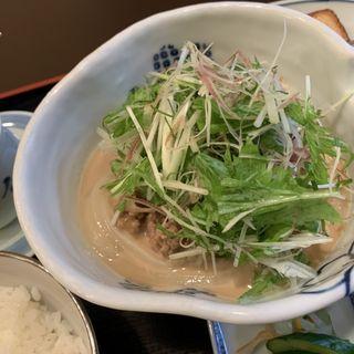 坦々うどんセット(ワノフクラブ )