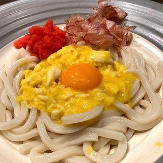 釜玉うどん 明太子(つるとんたん 東急プラザ銀座店)